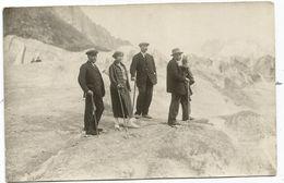 CHAMONIX CARTE PHOTO GROUPE MER DE GLACE EDITEUR ADOLPHE COUTTET - Chamonix-Mont-Blanc