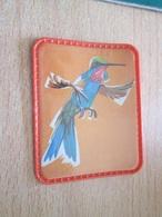 PUB720 Objet Publicitaire Années 60 ECUSSON PLASTIQUE Collection Les Oiseaux Merveilleux CAFE MAURICE N°6 - Magnets