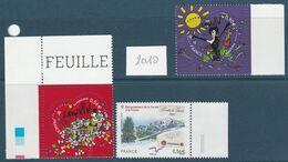 FRANCE NEUF N° 4431 / 4432 ET 4441 - Unused Stamps