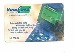 Vietnam Viêt-Nam Cardphone Télécarte Diên Thoai The Bien 2 Scans 50.000Dong - Viêt-Nam