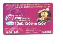 Vietnam Viêt-Nam Cardphone Télécarte Diên Thoai The Bien 2 Scans 30.000Dong - Viêt-Nam