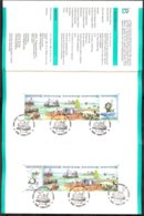 Cob 2273B +2276B  La Mer Sur Prospectus 1988 N°1 Prévente -oblit.illustrée Bateau De Pêche, 6-2-1988 Charleroi - Belgium