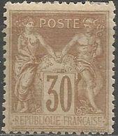 France - Type Sage II - N° 80 Neuf Avec Trace De Charnière - 1876-1898 Sage (Tipo II)