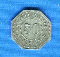 MERLENBACH  57     50  PF  1917  ZN - Monétaires / De Nécessité