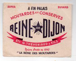Dijon (21 Côte D'Or)  Buvard REINE DE DIJON  Ets THEVENIAUD (PPP23556) - Mostard