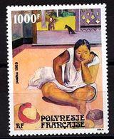 ♥ Polynésie Française / French Polynesia  YT 346** -Te Faaturuma - Paul Gaugin - 1989 - Neuf  - NSC - MNH - Polinesia Francese