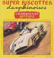 Super Biscottes Dauphinoises - Champavert (Grenoble)  - Buvard - Mercedes 2l 500 - Biscottes