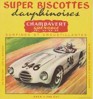 Super Biscottes Dauphinoises - Champavert (Grenoble)  - Buvard - Osca 1.500 Cm3 - Biscottes