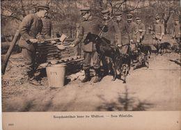 Hondenpatrouille - 1914-18