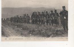 CPA   ENVIRON DE GERARDMER LE HOHNECK UNE COMP DU 152EM ALA FRONTIERE - France