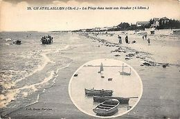 France Chatelaillon (Ch-I) La Plage Dans Toute Son Etendue (4 Km) 1924 - Frankreich