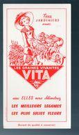 Buvard  LES GRAINES VIVANTES VITA (M0513) - Agricultura