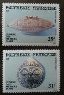 Lot ♥ Polynésie Française YT 324/325** - Centre Des Métiers D'art - 1989 - Neuf XX - NSC - MNH - Polinesia Francese