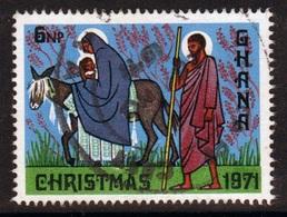 Ghana 1971  Single 6np  Christmas Fine Used Commemorative Stamp. - Ghana (1957-...)