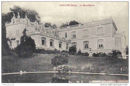 Carte Postale 27. Gaillon  Le Mont-Martin   Trés Beau Plan - Acquigny