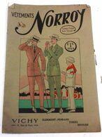 Catalogue Été 1924 Vêtements Norroy Rue De Paris Vichy Hommes Et Enfants Faits D'Avance  Sur Mesure Complets Sports - Advertising
