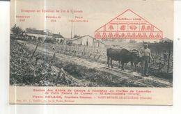 Enclos Des Abbés De Camps Et Domaine Du Cloitre De Lamothe De Petit Palais De Lussac, St Emilionnais - Altri Comuni