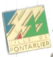 Ville De Pontarlier (25 Doubs) Logo - Steden