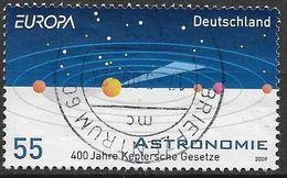 2009  Deutschland Allem. Fed. Mi. 2732  Used    Europa: Astronomie - 2009