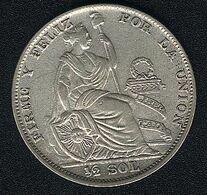 Peru, 1/2 Sol 1935, Silber - Pérou