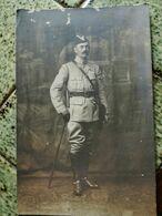 Carte Photo Colonel Geny Léon ( 1858-1925) Prévôt De La 1ere Armée 1916 1917, Tranchées, Poilus - Regiments