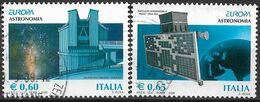 2009 Italien  Mi. 3294-5  Used    Europa: Astronomie - 2009
