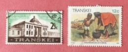 SOUTH AFRICA / TRANSKEI LOT OF USED STAMPS - Sud Africa (1961-...)
