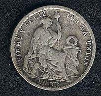 Peru, Dinero 1905, Silber - Pérou