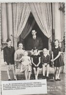 LUXEMBOURG  CARTE PHOTO NEUVE  LA FAMILLE HERITIERE - Grand-Ducal Family