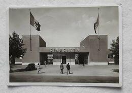 Cartolina Illustrata Cinecittà - L'ingresso Principale, Per Falconara Marittima 1942 - Italia