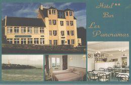 22 PLESTIN-LES-GREVES  HOTEL  BAR  LES PANORAMAS - Plestin-les-Greves