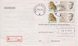 Recommandé Bullange - Relais De Rocheratht 1987 Type Velghe - Belgium