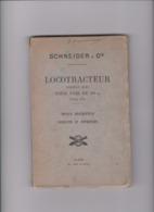 LIVRE LOCOTRACTEUR MODELE 1916 POUR VOIE DE 60cm - Ferrocarril
