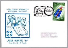 JUEGOS OLIMPICOS INVIERNO SARAJEVO'84 - BOBSLEIGH. Tirgoviste 1984 - Winter 1984: Sarajevo