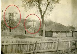Litauen - Kielmy - Kelme - Ziehbrunnen  (aus Album)  Soldats Allemande  -guerre 14/18-WWI  Photo Allemande - Lituanie