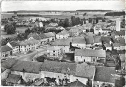 D57 - FRANCALTROFF-EN AVION AU DESSUS DE .... FRANCALTROFF-VUE PANORAMIQUE-CPSM Dentelée Grand Format En Noir Et Blanc - France