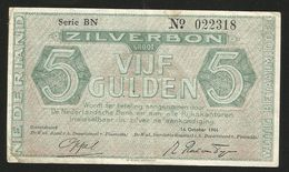Netherland 5 Gulden 16.10.1944 - [2] 1815-… : Regno Dei Paesi Bassi