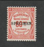 TIMBRES - 1923 -  N ° 48 - CI 1 - Timbre De Recouvrements -  Surcharge C -  Neuf Sans Charnière - - Unused Stamps