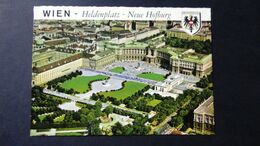 Austria - Wien - Heldenplatz - Neue Hofburg - 1982 - Vienna Center