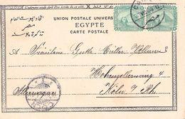 ÄGYPTEN - ANSICHTSKARTE 1904 ALEXANDRIA-CÖLN /ak522 - Ägypten