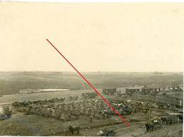 Litauen - Bahnhof Panowiez Panevėžys ?  (aus Album)  Soldats Allemande  -guerre 14/18-WWI  Photo Allemande - Lituanie