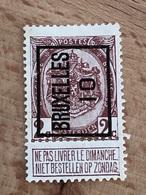 15A Bruxelles 10 Voir Scan - Typo Precancels 1906-12 (Coat Of Arms)