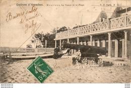 D33  ARCACHON  Moulleau, Le Casino Et La Plage  ..... - Arcachon