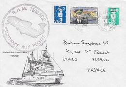 1997 Saint Pierre Et Miquelon N° 627, 624, 515 . Bateau. Remorqueur De Haute Mer. Cdt Jean Levasseur , Marianne Du Bicen - St.Pierre & Miquelon