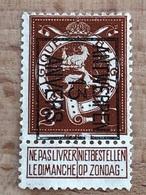 40B Antwerpen 1912 Anvers Propre Voir Scan - Préoblitérés