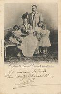 Luxembourg . La Famille Grand Ducale Héréditaire . Charles Bernhoeft  1901 Vers Docteur Meneault Pont De Vaux Ain - Grand-Ducal Family
