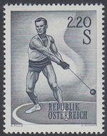 Austria 1967 - Sport (III): Athletics, Discus - Mi 1242 ** MNH [1213] - 1961-70 Nuovi & Linguelle
