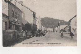 CPA ST ETIENNE LES REMIREMONT LA ROUTE DE BELLEVUE - France