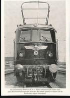 N° 154 --- Lokportrat Beaureihe E 19 --  Bild 2 - Trenes