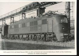 N° 154 --- Lokportrat Beaureihe E 19 --  Bild 4 - Trenes